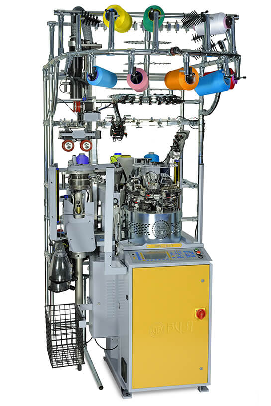 Busi Doppio Terry True Rib Sock Knitting Machine