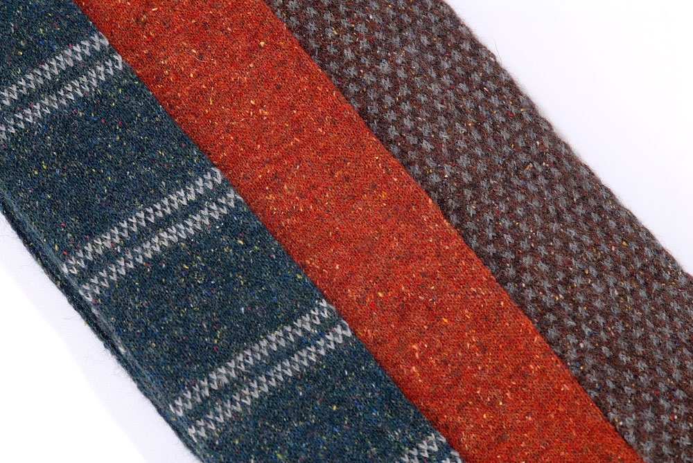 Knitted ties from our BUSI LIGHT MP